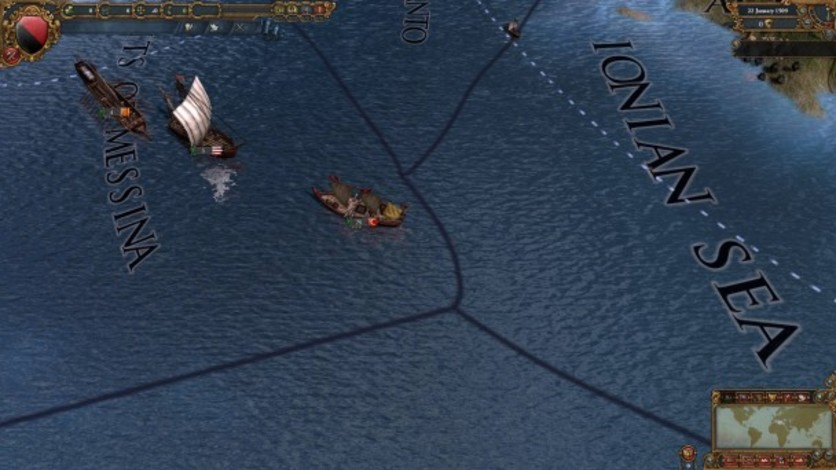Screenshot 1 - Europa Universalis IV: Muslim Ships Unit Pack
