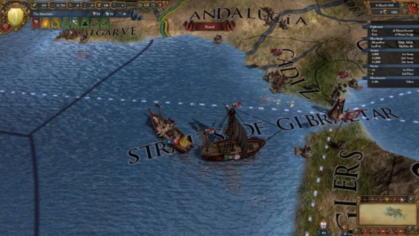 Screenshot 9 - Europa Universalis IV: Muslim Ships Unit Pack