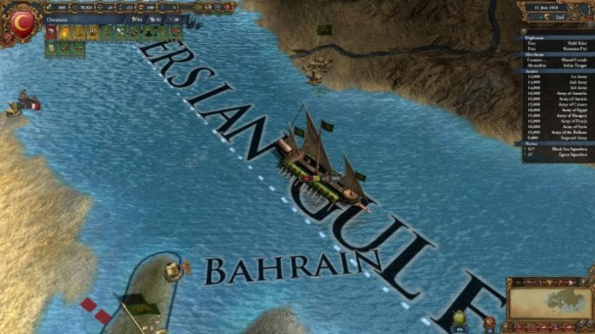 Screenshot 2 - Europa Universalis IV: Muslim Ships Unit Pack