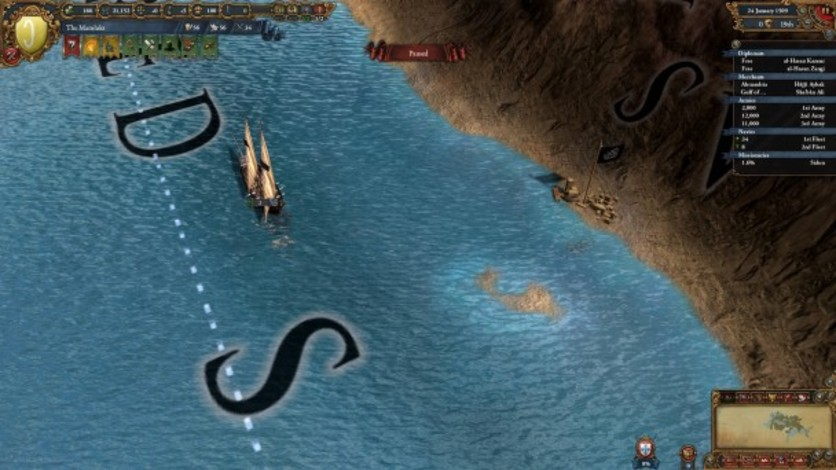 Screenshot 7 - Europa Universalis IV: Muslim Ships Unit Pack