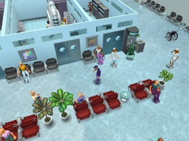 Screenshot 2 - Hospital Tycoon