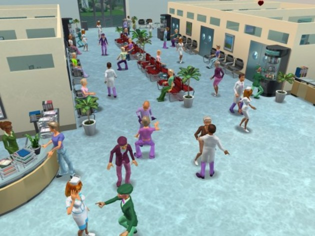 Screenshot 3 - Hospital Tycoon