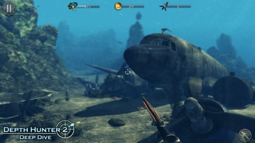 Screenshot 4 - Depth Hunter 2: Deep Dive