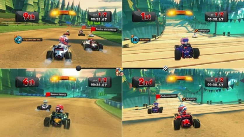 Screenshot 3 - F1 Race Stars