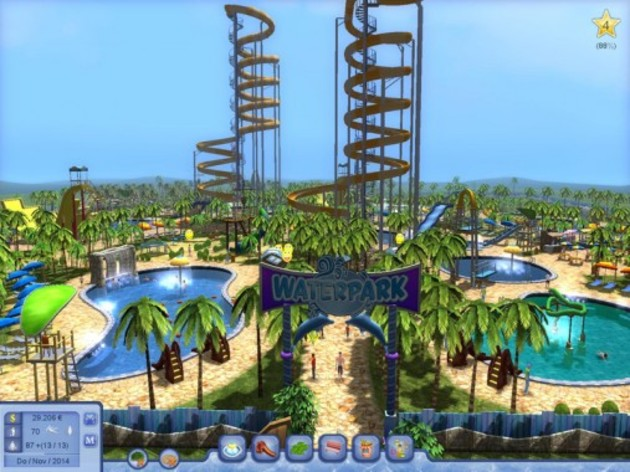 Screenshot 2 - Waterpark Tycoon