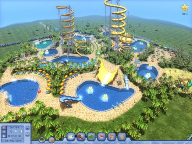 Screenshot 4 - Waterpark Tycoon