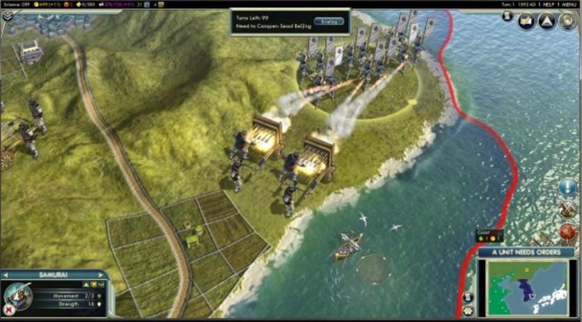 Screenshot 2 - Sid Meier's Civilization V: Civilization and Scenario Pack – Korea (MAC)