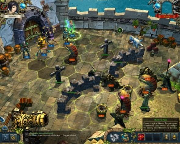 Screenshot 2 - King's Bounty: Crossworlds