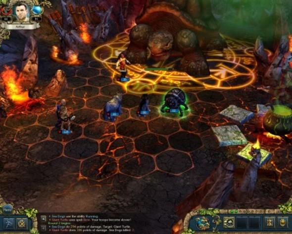 Screenshot 2 - King's Bounty: Crossworlds GOTY