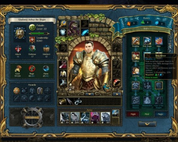 Screenshot 4 - King's Bounty: Crossworlds GOTY