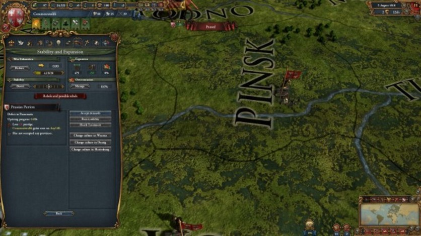 Screenshot 5 - Europa Universalis IV: Art of War