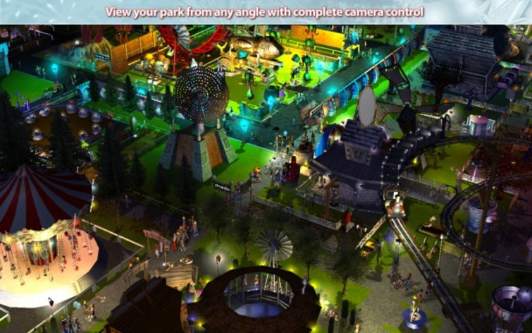 Screenshot 4 - RollerCoaster Tycoon 3: Platinum (MAC)