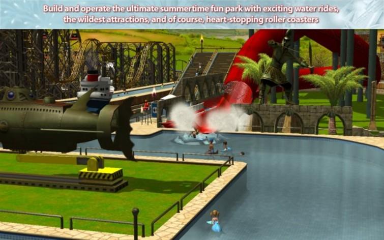 Screenshot 2 - RollerCoaster Tycoon 3: Platinum (MAC)