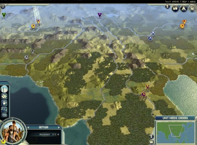 Screenshot 2 - Sid Meier's Civilization V: Cradle of Civilization – Asia