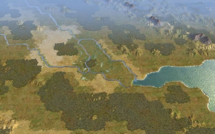 Screenshot 1 - Sid Meier's Civilization V: Cradle of Civilization – Mesopotamia (MAC)
