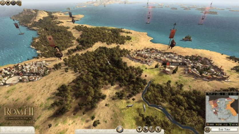 Screenshot 3 - Total War: ROME II - Wrath of Sparta