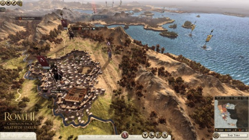 Screenshot 4 - Total War: ROME II - Wrath of Sparta