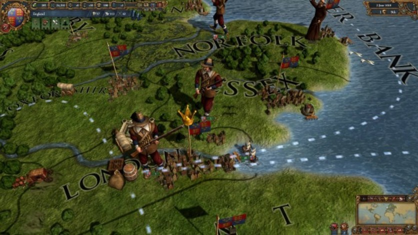 Screenshot 10 - Europa Universalis IV: Evangelical Union Unit Pack