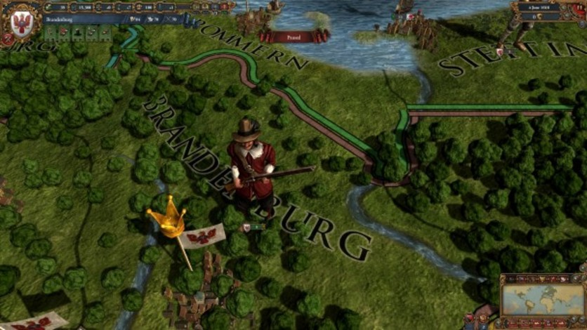 Screenshot 1 - Europa Universalis IV: Evangelical Union Unit Pack