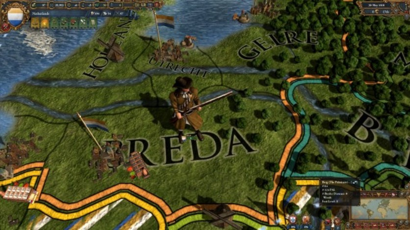 Screenshot 8 - Europa Universalis IV: Evangelical Union Unit Pack