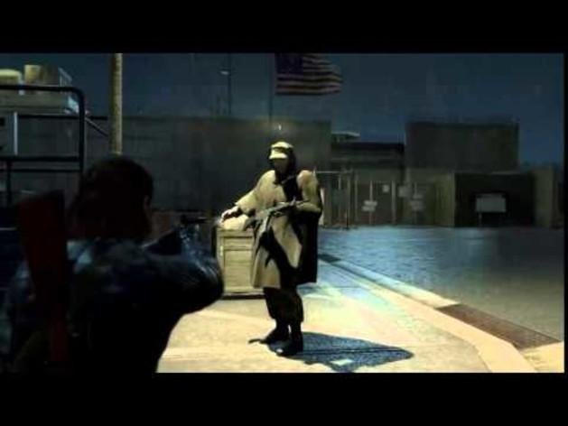 Screenshot 1 - Metal Gear Solid V: Ground Zeroes