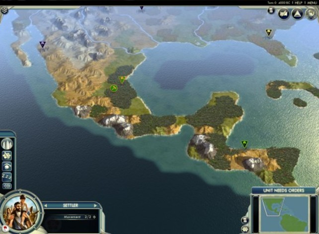 Screenshot 1 - Sid Meier's Civilization V: Cradle of Civilization – The Americas