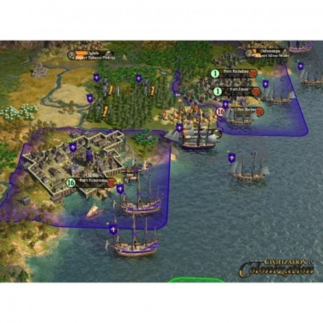 Screenshot 1 - Sid Meier's Civilization IV: The Complete Edition (MAC)