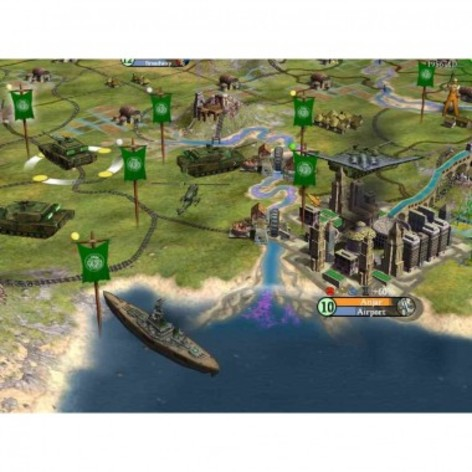 Screenshot 2 - Sid Meier's Civilization IV: The Complete Edition (MAC)