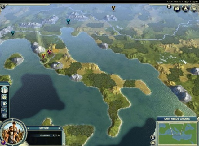 Screenshot 2 - Sid Meier's Civilization V: Cradle of Civilization – The Mediterranean