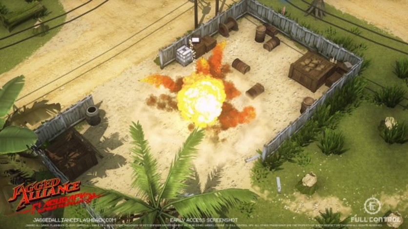 Screenshot 13 - Jagged Alliance Flashback