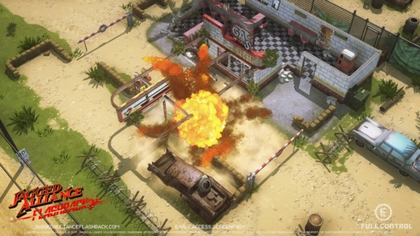 Screenshot 4 - Jagged Alliance Flashback