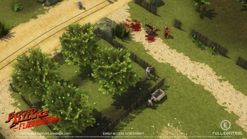 Screenshot 8 - Jagged Alliance Flashback