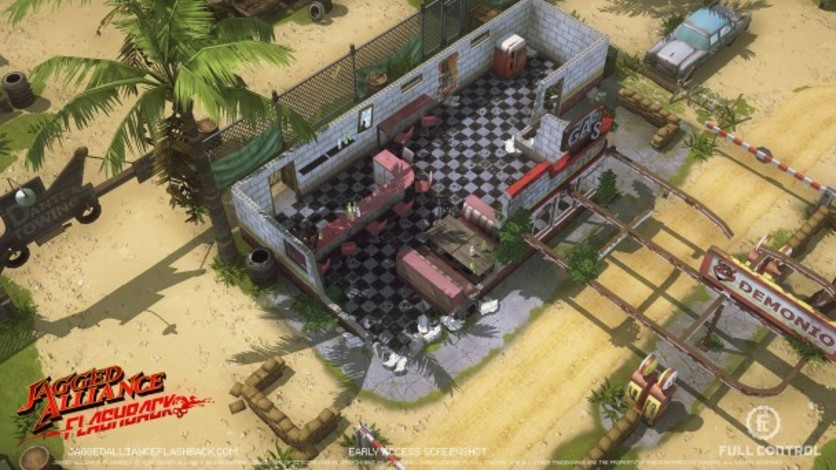 Screenshot 16 - Jagged Alliance Flashback