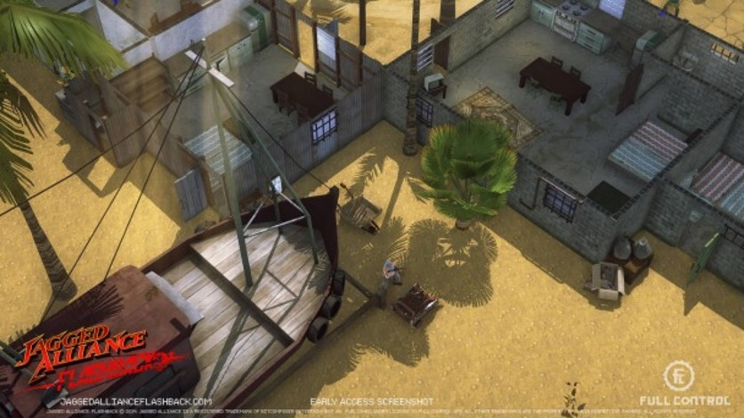Screenshot 11 - Jagged Alliance Flashback