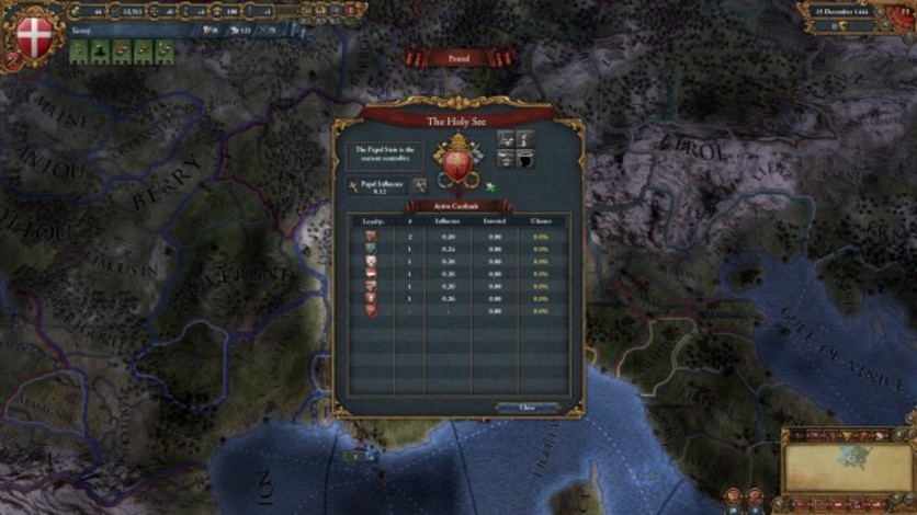 Screenshot 7 - Europa Universalis IV: Songs of War