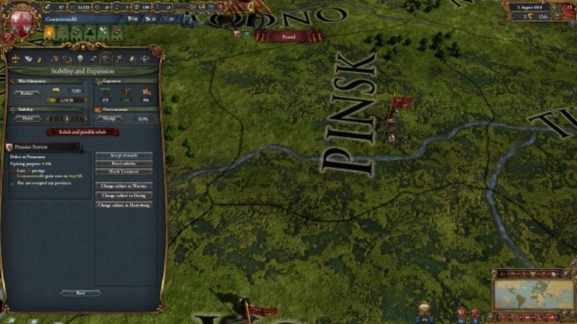 Screenshot 4 - Europa Universalis IV: Songs of War