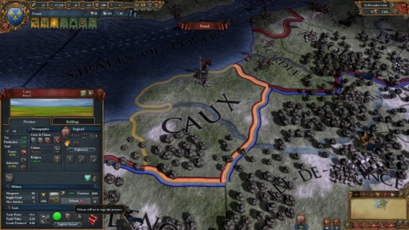 Screenshot 2 - Europa Universalis IV: Songs of War