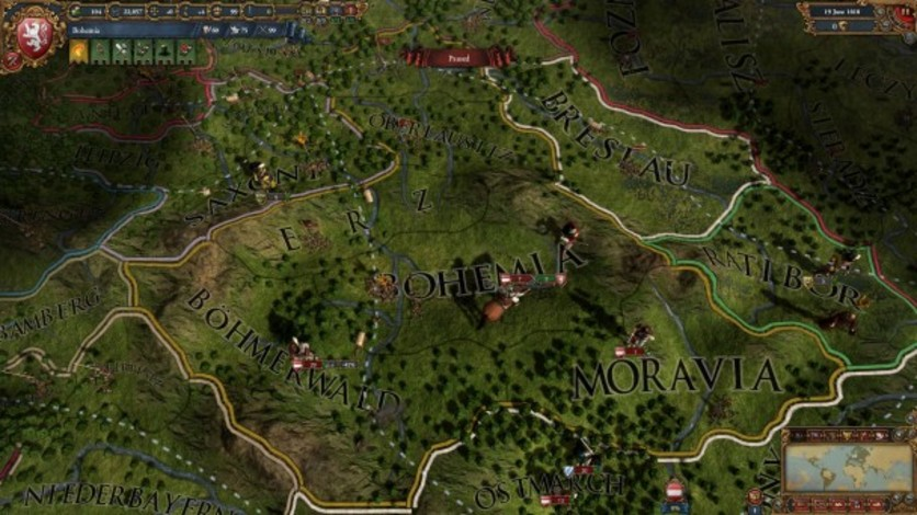 Screenshot 1 - Europa Universalis IV: Songs of War