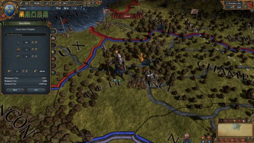 Screenshot 2 - Europa Universalis IV: The Art of War Collection