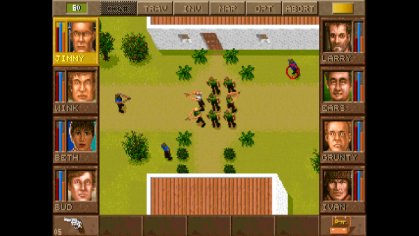 Screenshot 1 - Jagged Alliance - Gold Edition