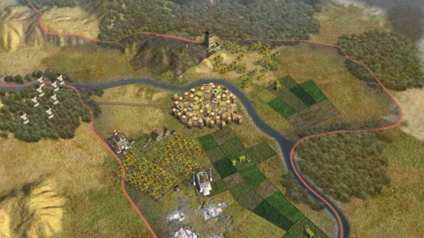 Screenshot 2 - Sid Meier's Civilization V: Scenario Pack – Wonders of the Ancient World (MAC)