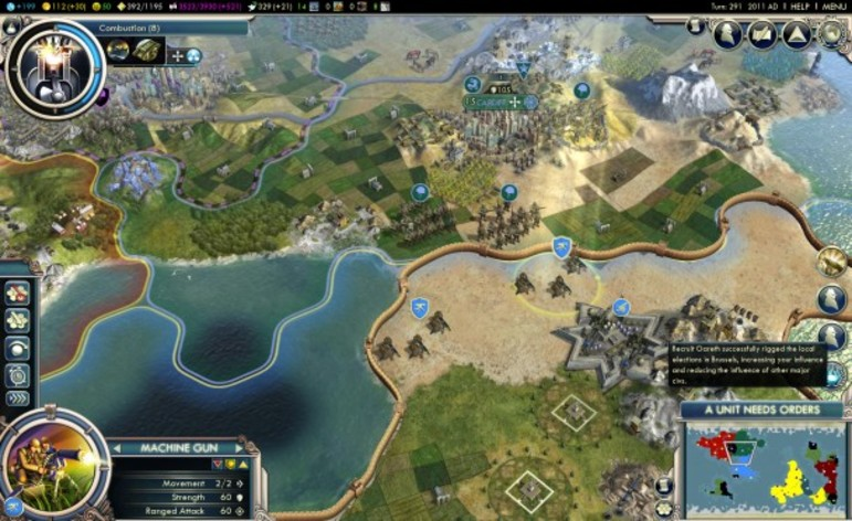 Screenshot 2 - Sid Meier's Civilization V: The Complete Edition (MAC)
