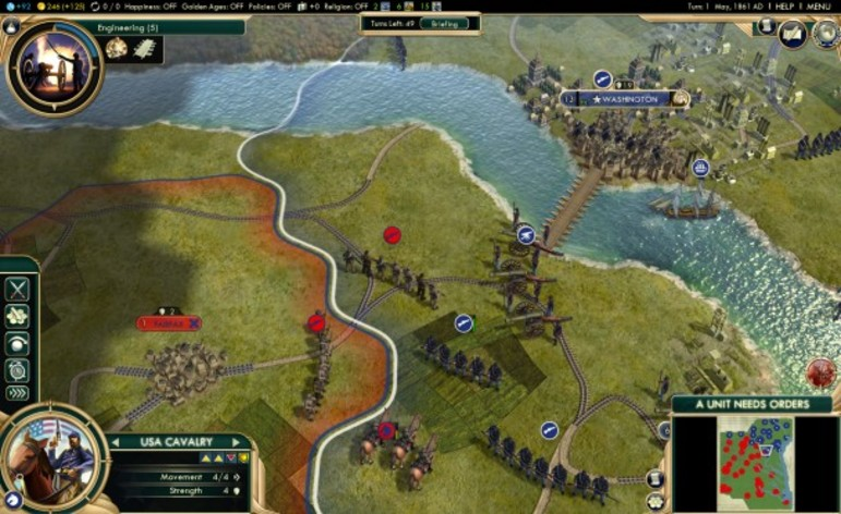 Screenshot 6 - Sid Meier's Civilization V: The Complete Edition (MAC)