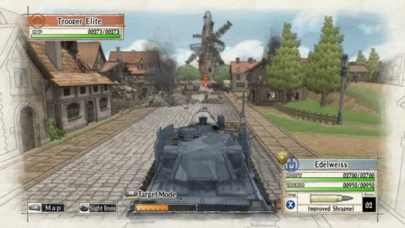 Screenshot 2 - Valkyria Chronicles