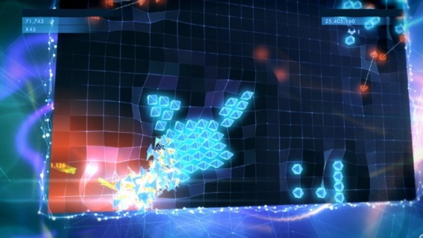 Screenshot 4 - Geometry Wars 3: Dimensions (MAC)
