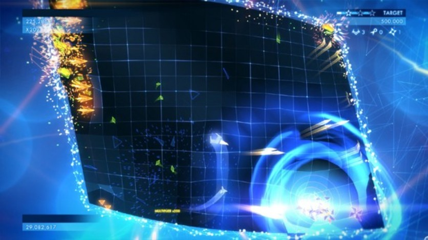 Screenshot 1 - Geometry Wars 3: Dimensions (MAC)
