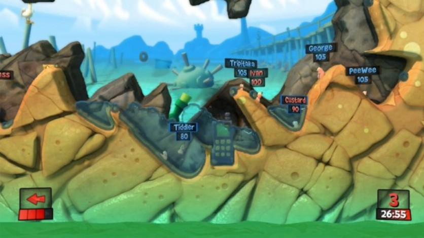 Screenshot 6 - Worms Revolution Gold Edition