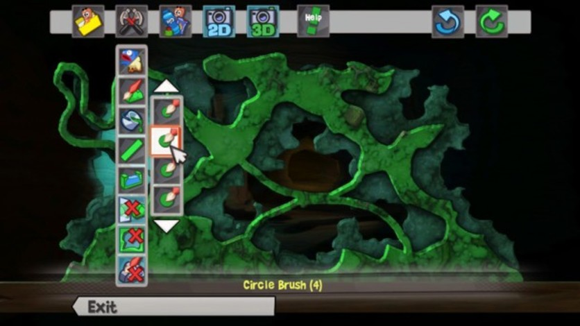 Screenshot 3 - Worms Revolution Gold Edition
