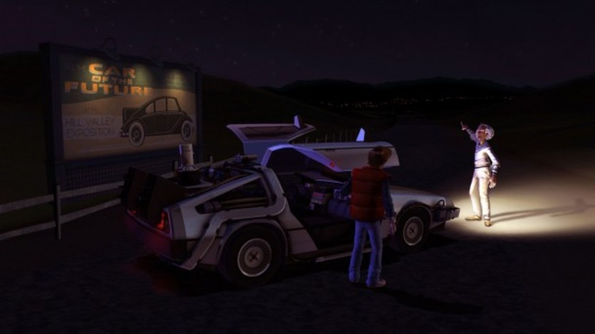 Screenshot 5 - Back to the Future: The Game
