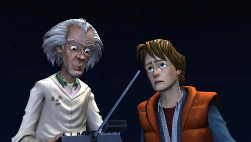 Screenshot 3 - Back to the Future: The Game